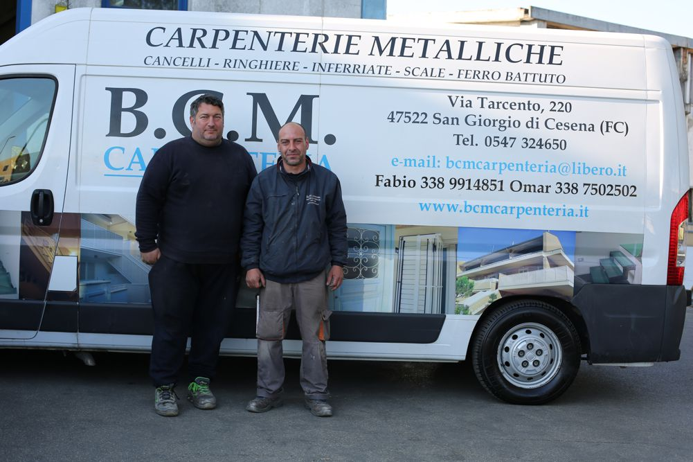 I soci - B.C.M. Carpenteria - Carpenterie metalliche - Cesena